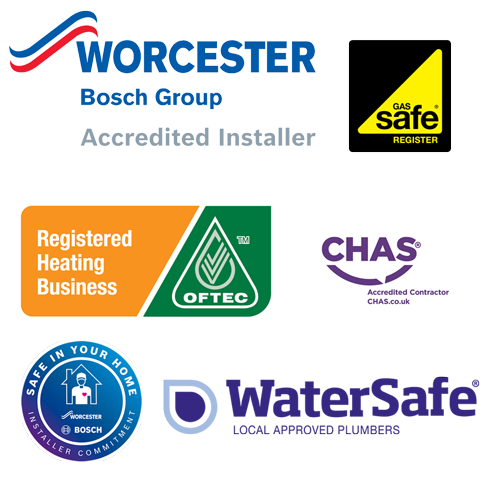 Lincoln Gas are plumbers who are Worcester Accredited,  Gas Safe, OFTEC, CHAS