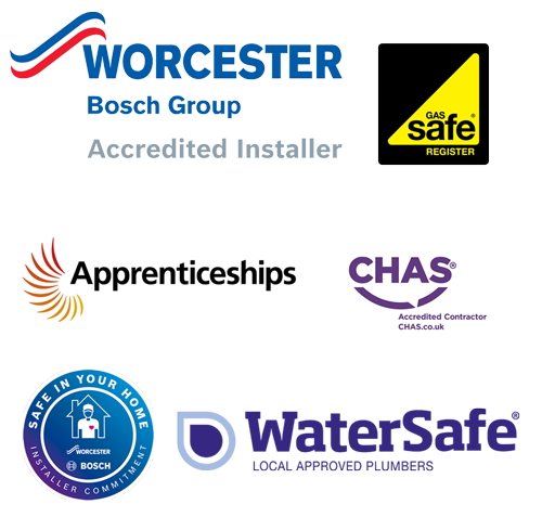 Lincoln Gas are plumbers who are Worcester Accredited,  Gas Safe,  CHAS